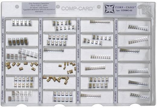Tantal-Kondensator Sortiment SMD NOVA by Linecard COSMC-02 1 Set