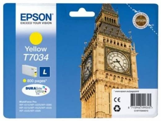 Epson Tinte T7034 Original Gelb C13T70344010