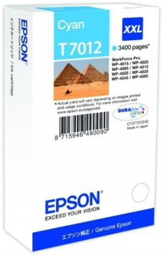 Epson Tinte T7012 XXL Original Cyan C13T70124010