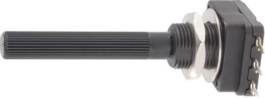 Dreh-Potentiometer Mono 0.2 W 100 Ω Piher PC16SH-10IP06101A2020MTA 1 St.
