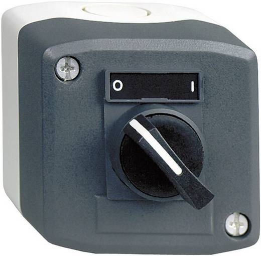Wahltaste im Gehäuse Dunkel-Grau, Hell-Grau 1 x 90 ° Schneider Electric Harmony XALD134 1 St.