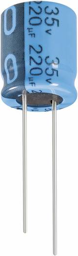 Elektrolyt-Kondensator radial bedrahtet 5 mm 1000 µF 25 V/DC 20 % (Ø x H) 10 mm x 20 mm Jianghai ECR1EPT102MFF501020 1 St.