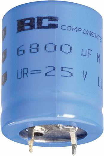 Elektrolyt-Kondensator SnapIn 10 mm 22000 µF 40 V 20 % (Ø x H) 35 mm x 50 mm Vishay 2222 056 57223 1 St.