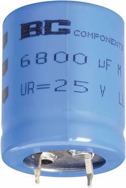 Snap In kondenzátor elektrolytický Vishay 2222 056 57472, 4700 µF, 40 V, 20 %, 30 x 25 mm