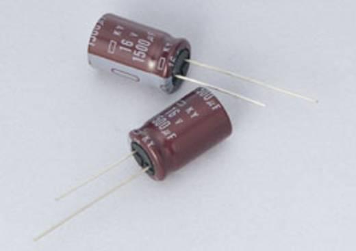 Elektrolyt-Kondensator radial bedrahtet 5 mm 1800 µF 20 % (Ø x L) 12.5 mm x 15 mm Europe ChemiCon EKY-6R3ELL182MK15S 1000 St.