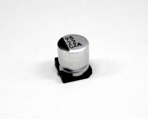 Elektrolyt-Kondensator SMD 100 µF 50 V 20 % (Ø x L) 8 mm x 10 mm Europe ChemiCon EMZA500ADA101MHA0G 500 St.