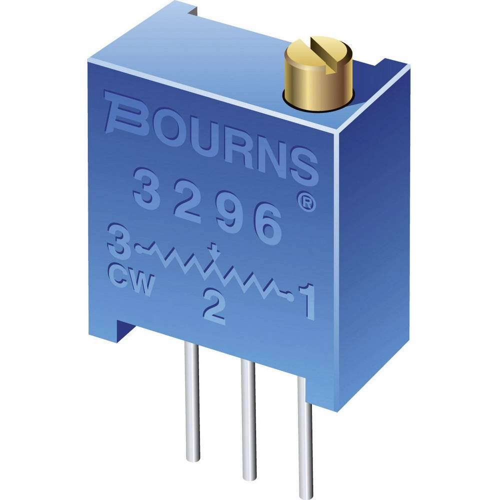 Bourns 3296Y-1-103LF Trimming Potentiometer THT 3296 0.5W Fixed from