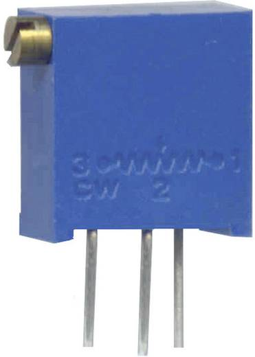 Spindeltrimmer 25-Gang linear 0.5 W 200 kΩ Weltron WEL3296-Z-204-LF 100 St.