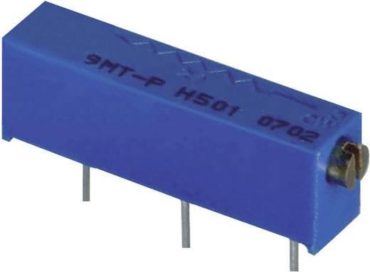 Spindeltrimmer 22-Gang linear 0.5 W 500 kΩ Weltron WEL3006-1-504-LF 100 St.