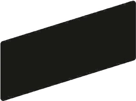 Bezeichnungsschild selbstklebend (L x B) 28 mm x 7 mm Schwarz Schneider Electric ZBY0101T 1 St.