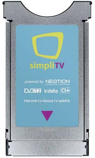 simpliTV CI+ Modul für DVB-T2-fähige TV-Geräte