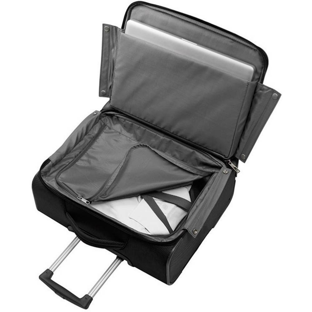 mallette roulettes pour ordinateur portable samsonite new spark rolling tote avec compartiment. Black Bedroom Furniture Sets. Home Design Ideas