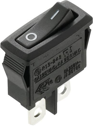Wippschalter 250 V/AC 4 A 1 x Aus/Ein SCI R13-243A-02 rastend 1 St.