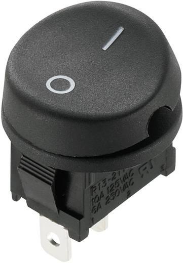 SCI Wippschalter R13-211A-02 250 V/AC 10 A 1 x Aus/Ein rastend 1 St.