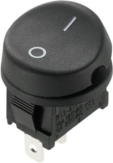 Wippschalter 250 V/AC 10 A 1 x Aus/Ein SCI R13-211A-02 rastend 1 St.