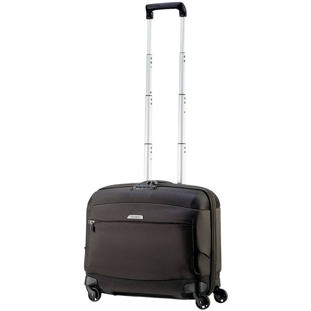 samsonite motio spinner rolling tote koffer laptop trolley mit kleidungsfach 43 9 cm 17 3. Black Bedroom Furniture Sets. Home Design Ideas