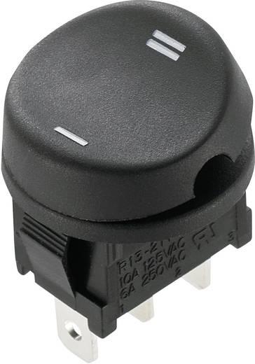 SCI Wippschalter R13-211C-02 250 V/AC 10 A 1 x Ein/Ein rastend 1 St.