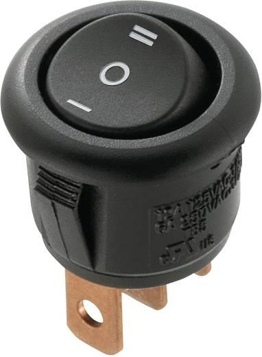 Wippschalter 250 V/AC 6 A 1 x Ein/Aus/Ein SCI R13-270D-02 rastend 1 St.