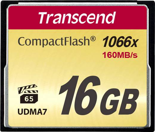 CF-Karte 16 GB Transcend Ultimate 1066x
