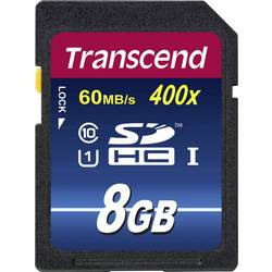 Pamäťová karta SDHC, 8 GB, Transcend Premium 400, Class 10, UHS-I