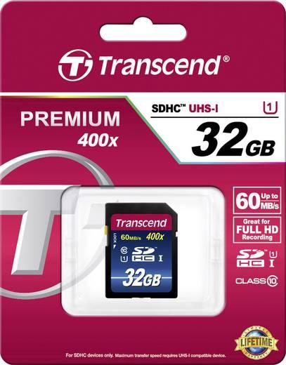SDHC-Karte 32 GB Transcend Premium 400 Class 10, UHS-I