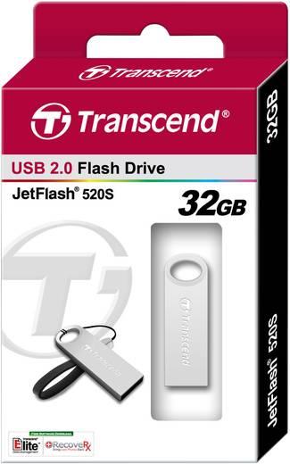 USB-Stick 32 GB Transcend JetFlash® 520S Silber TS32GJF520S USB 2.0