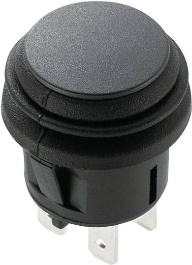 Druckschalter 250 V/AC 6 A 2 x Aus/Ein SCI R13-527B2-02 rastend 1 St.