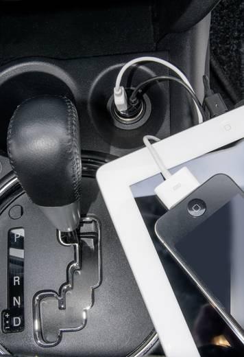 iPad/iPhone/iPod Ladegerät VOLTCRAFT CLC-2000USB CLC-2000USB KFZ Ausgangsstrom (max.) 2000 mA 2 x USB, Apple Dock-Stecke