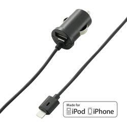 USB napájací zdroj do autozásuvky pre Apple Voltcraft CLC-2000USB, 5 VDC, 2x 2000 mA