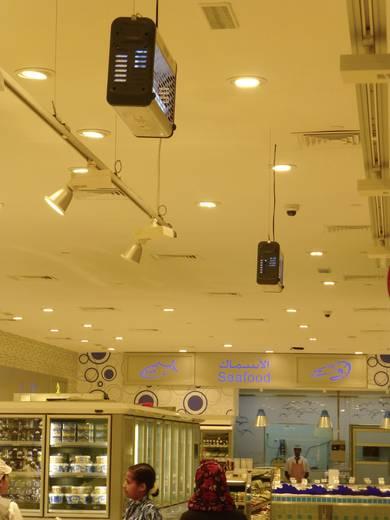 UV-Insektenfänger 80 W Exocutor Insect-o-Cutor EX80S (B x H x T) 694 x 265 x 140 mm Edelstahl 1 St.