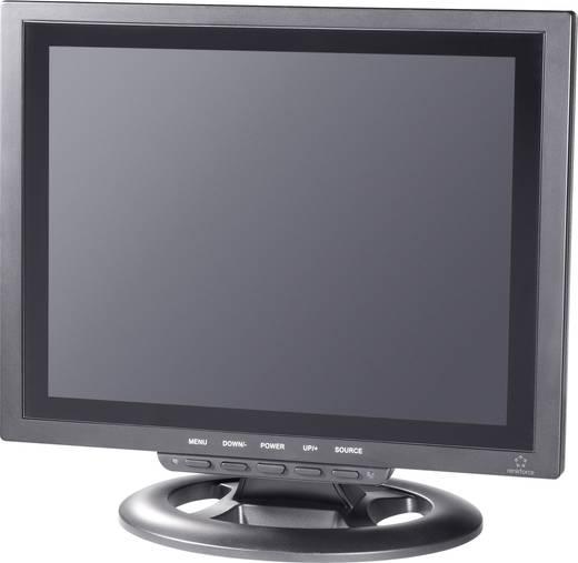 LCD-Überwachungsmonitor 30.48 cm 12 Zoll Renkforce 449238 800 x 600 Pixel Schwarz