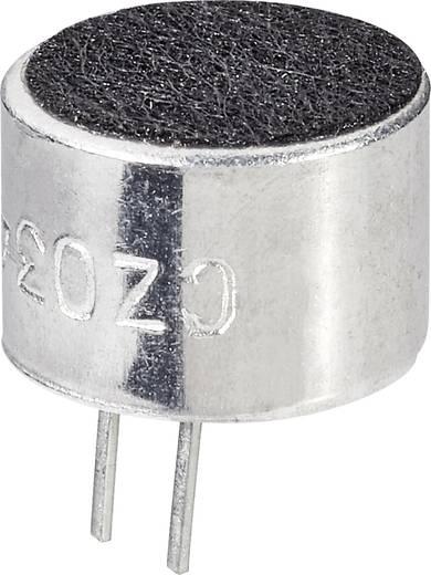 Elektret-Mikrofonkapsel EMY-9765P Betriebsspannung (Details): 3 - 10 V/DC -46 dB Frequenzbereich: 30 - 16000 Hz Inhalt: