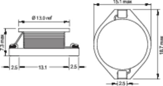 Induktivität SMD 220 µH 0.34 Ω 1.3 A Fastron PISR-221M-04 1 St.