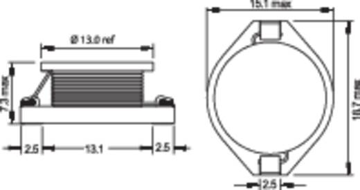 Induktivität SMD 3.3 µH 0.017 Ω 6.4 A Fastron PISR-3R3M-04 1 St.