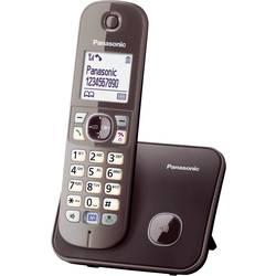 Bezdrôtový analógový telefón Panasonic KX-TG6811, mocca