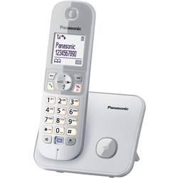 Bezdrôtový analógový telefón Panasonic KX-TG6811, strieborná, sivá