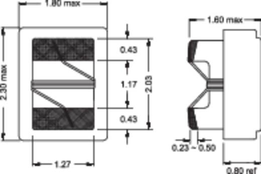 HF-Drossel SMD 0805 2200 nH 3.8 Ω 0.15 A Fastron 0805AS-2R2J-01 1 St.