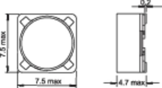 Induktivität SMD 22 µH 0.11 Ω 1.23 A Fastron PIS2816-220M-04 1 St.