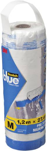 Abdeckfolie 3M ScotchBlue™ Transparent (L x B) 27.4 m x 1.2 m Inhalt: 1 St.