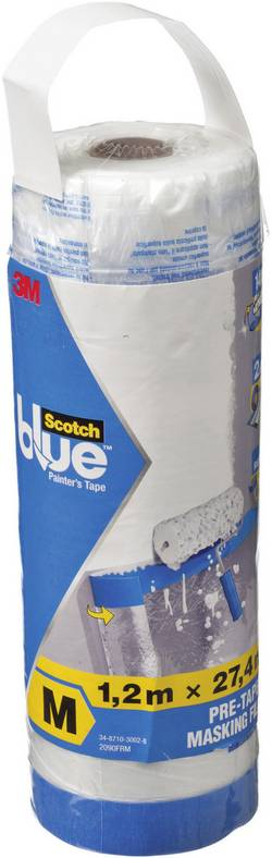 Film de masquage ScotchBlue™ 3M 70006583085 transparent (L x l) 27.4 m x 1.2 m 1 pc(s)