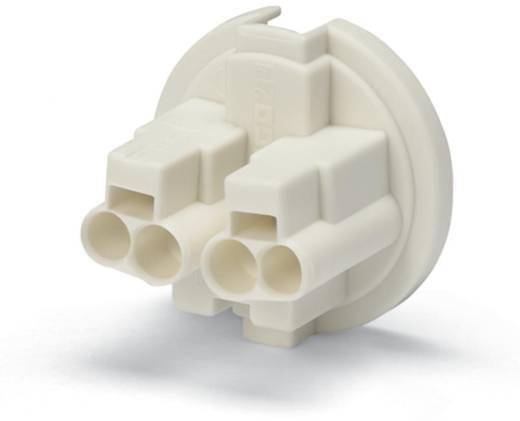 Verbindungsklemme starr: 0.5-1.5 mm² Polzahl: 4 WAGO 7000 St. Gelb