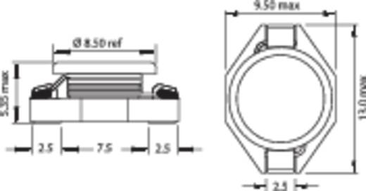 Induktivität SMD 100 µH 0.28 Ω 1.2 A Fastron PISM-101M-04 1 St.
