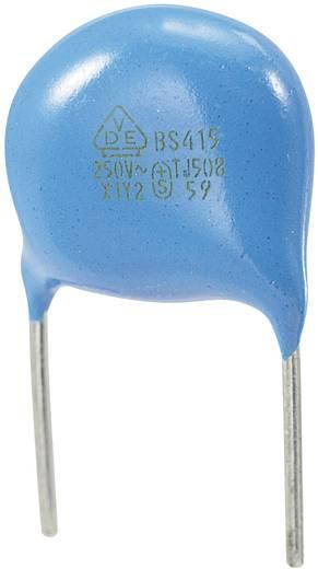 Keramik-Scheibenkondensator radial bedrahtet 680 pF 250 V/AC 10 % 1 St.