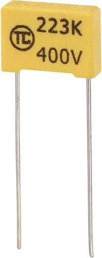 MKS-Folienkondensator radial bedrahtet 0.022 µF 400 V/DC 5 % 10 mm (L x B x H) 13 x 4 x 9 mm 1 St.