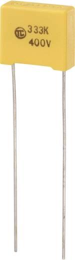 MKS-Folienkondensator radial bedrahtet 0.033 µF 400 V/DC 5 % 10 mm (L x B x H) 13 x 5 x 11 mm 1 St.