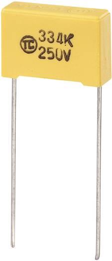 MKS-Folienkondensator radial bedrahtet 0.047 µF 630 V/DC 5 % 15 mm (L x B x H) 18 x 6 x 12 mm 1 St.