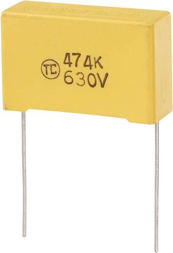 MKS-Folienkondensator radial bedrahtet 0.47 µF 630 V/DC 5 % 27.5 mm (L x B x H) 32 x 11 x 20 mm 1 St.