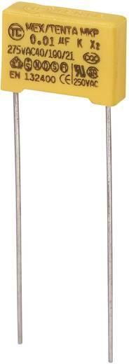 MKP-X2 MKP-X2-Funkentstör-Kondensator radial bedrahtet 0.01 µF 275 V/AC 10 % 10 mm (L x B x H) 13 x 4 x 9 mm 1 St.