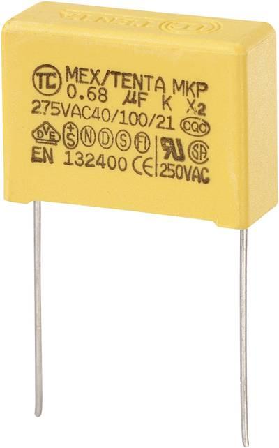 Condensateur anti-parasite MKP-X2 450264 0.68 µF 275 V/AC 10 % Pas: 22.5 mm (L x l x h) 26.5 x 10 x 19 mm 1 pc(s)