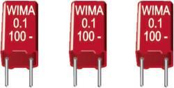 Condensateur film MKS Wima MKS2C031001A00KSSD 0.1 µF 63 V/DC 20 % Pas: 5 mm (L x l x h) 7.2 x 2.5 x 6.5 mm 1 pc(s)